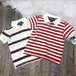 NEW Lot of 2 Polo by Ralph Lauren Shirt Boy 12M